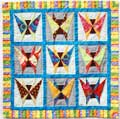 Patchwork - Papillons
